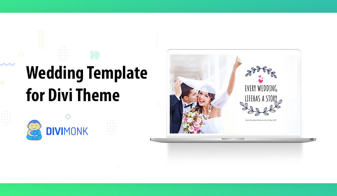 Create a Beautiful Wedding Website with Divi Wedding Template