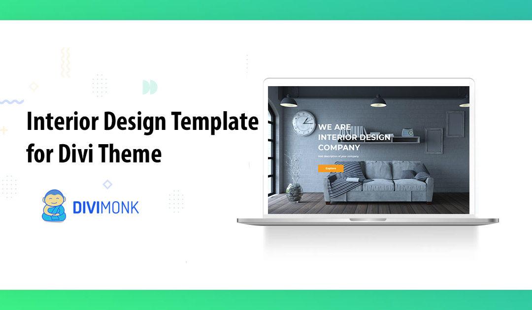 Interior design Template for Divi Theme