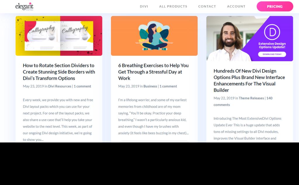 Elegant Themes Blog