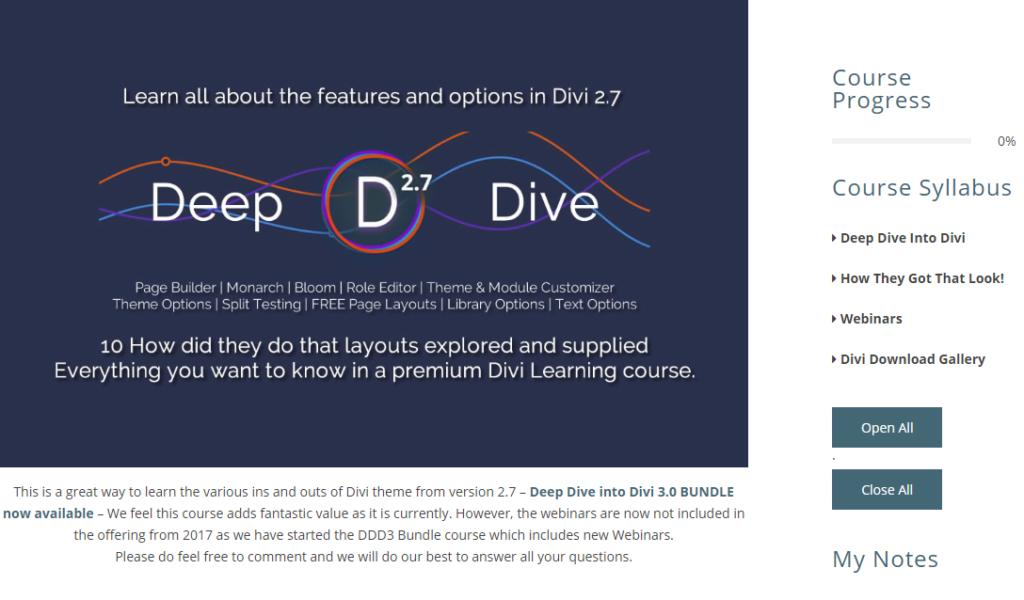 Deep Dive into DIVI