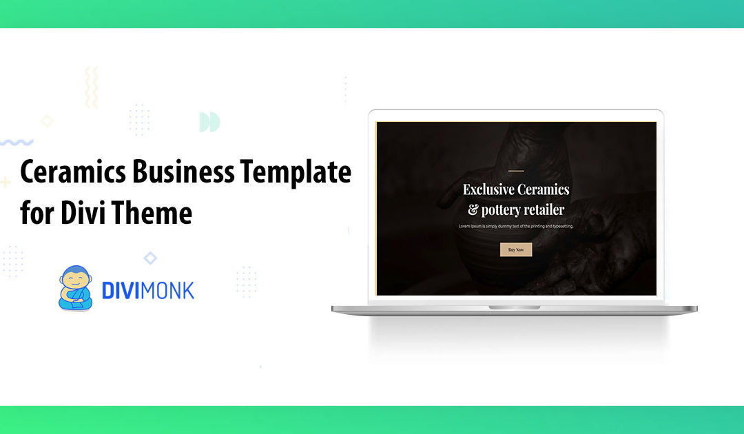 Artistic Divi Template for Ceramics & Pottery Business